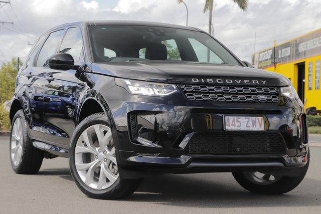 Used Land Rover Discovery Sport L550 20.5MY R-Dynamic S Rocklea, 2020 Land Rover Discovery Sport L550 20.5MY R-Dynamic S Narvik Black/beige 9 Speed Sports Automatic
