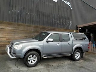 2007 Ford Ranger PJ XLT Super Cab Grey 5 Speed Automatic Utility