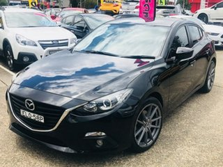 2016 Mazda 3 BN5438 SP25 SKYACTIV-Drive Black 6 Speed Sports Automatic Hatchback.