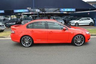 2012 Ford Falcon FG MK2 XR6 Red 6 Speed Auto Seq Sportshift Sedan.