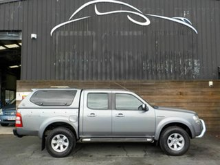 2007 Ford Ranger PJ XLT Super Cab Grey 5 Speed Automatic Utility.