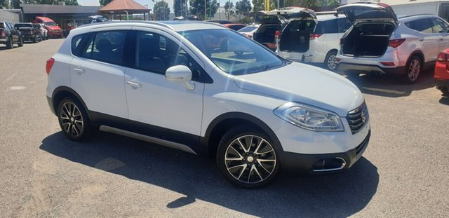 Used Suzuki S-Cross JY GLX 4WD Prestige Elizabeth, 2013 Suzuki S-Cross JY GLX 4WD Prestige White 7 Speed Constant Variable Hatchback