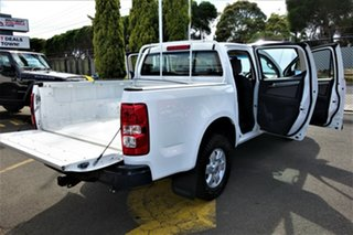 2015 Holden Colorado RG MY15 LT Crew Cab 4x2 White 6 Speed Sports Automatic Utility