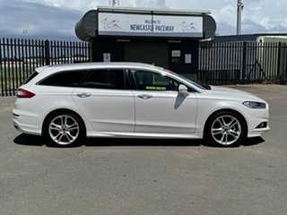 2017 Ford Mondeo MD 2018.25MY Titanium White 6 Speed Sports Automatic Dual Clutch Wagon