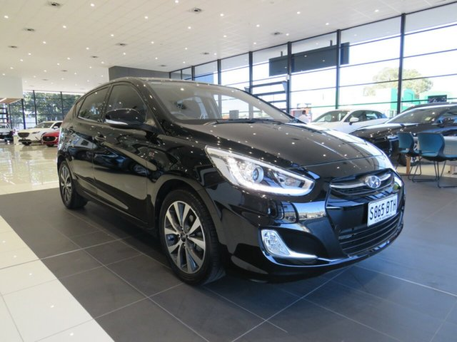 Used Hyundai Accent RB3 MY15 SR Edwardstown, RB3 MY15 SR Hatch 5dr SA 6sp 1.6i (CD Player)