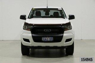 2016 Ford Ranger PX MkII XL 2.2 (4x4) White 6 Speed Manual Crew Cab Utility.