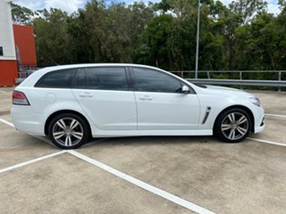 2015 Holden Commodore VF MY15 SV6 White 6 Speed Automatic Sportswagon.
