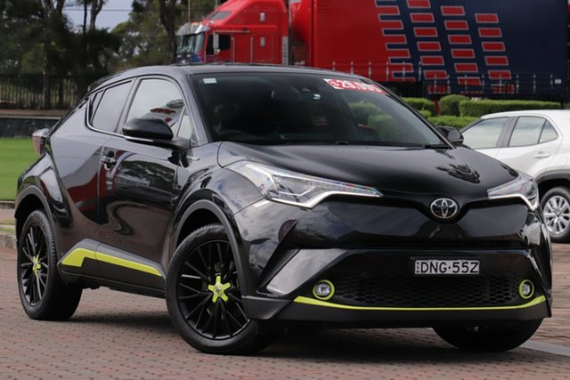 Pre-Owned Toyota C-HR NGX50R S-CVT AWD Warwick Farm, 2017 Toyota C-HR NGX50R S-CVT AWD Black 7 Speed Constant Variable SUV