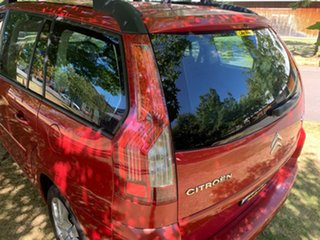 2007 Citroen C4 Picasso HDi Red 6 Speed Sports Automatic Wagon