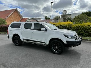 2016 Holden Colorado RG MY17 LS White 6 Speed Automatic Dual Cab.