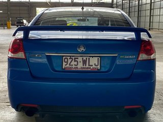 2011 Holden Commodore VE II MY12 SV6 Blue 6 Speed Sports Automatic Sedan