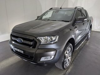 2018 Ford Ranger PX MkII 2018.00MY Wildtrak Double Cab Grey 6 Speed Manual Utility.