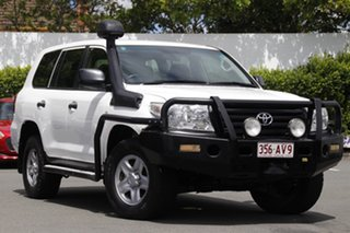 2013 Toyota Landcruiser VDJ200R MY12 GX White 6 Speed Sports Automatic Wagon.