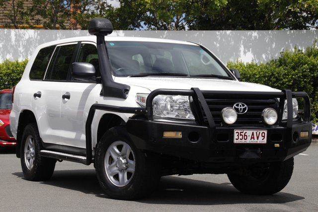Used Toyota Landcruiser VDJ200R MY12 GX Mount Gravatt, 2013 Toyota Landcruiser VDJ200R MY12 GX White 6 Speed Sports Automatic Wagon