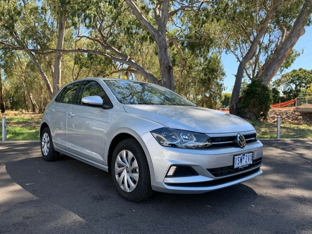Demo Volkswagen Polo AW MY21 70TSI DSG Trendline Epsom, 2020 Volkswagen Polo AW MY21 70TSI DSG Trendline Reflex Silver 7 Speed Sports Automatic Dual Clutch