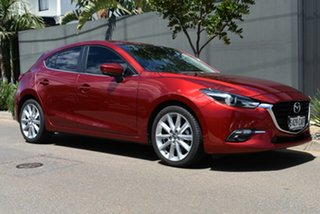 2018 Mazda 3 BN5438 SP25 SKYACTIV-Drive GT Red 6 Speed Sports Automatic Hatchback