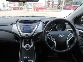 2011 Hyundai Elantra Active Red 6 Speed Manual Sedan