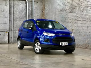 2017 Ford Ecosport BK Ambiente PwrShift Blue 6 Speed Sports Automatic Dual Clutch Wagon.