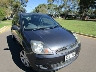 2007 Ford Fiesta WQ Zetec Grey 5 Speed Manual Hatchback.