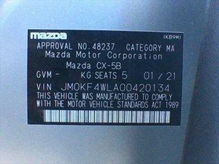 2020 Mazda CX-5 KF4WLA Touring SKYACTIV-Drive i-ACTIV AWD Sonic Silver 6 Speed Sports Automatic