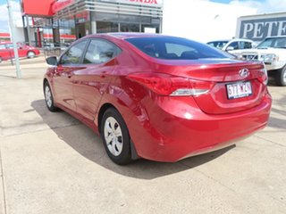 2011 Hyundai Elantra Active Red 6 Speed Manual Sedan