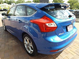 2012 Ford Focus LW Sport PwrShift Blue 6 Speed Sports Automatic Dual Clutch Hatchback