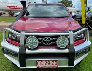 2016 Toyota Hilux GUN126R SR5 Double Cab Red 6 Speed Sports Automatic Utility