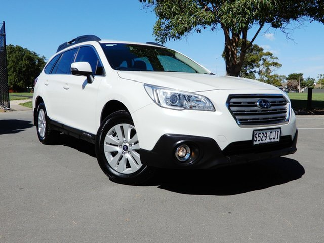 Used Subaru Outback B6A MY17 2.0D CVT AWD Glenelg, 2017 Subaru Outback B6A MY17 2.0D CVT AWD White 7 Speed Constant Variable Wagon