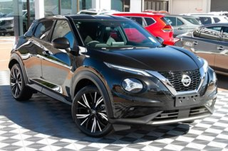 2021 Nissan Juke F16 Ti DCT 2WD Pearl Black 7 Speed Sports Automatic Dual Clutch Hatchback.