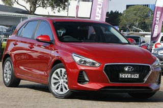 2017 Hyundai i30 PD MY18 Go Red 6 Speed Sports Automatic Hatchback.