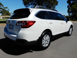 2017 Subaru Outback B6A MY17 2.0D CVT AWD White 7 Speed Constant Variable Wagon.