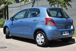 2006 Toyota Yaris NCP90R YR Blue 4 Speed Automatic Hatchback.