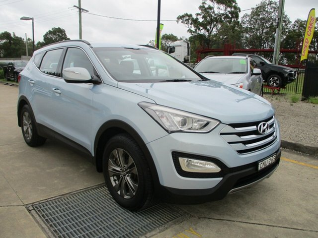 Used Hyundai Santa Fe DM MY13 Active Glendale, 2012 Hyundai Santa Fe DM MY13 Active Blue 6 Speed Sports Automatic Wagon