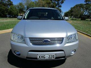 2005 Ford Territory SY Ghia (RWD) Silver 4 Speed Auto Seq Sportshift Wagon.