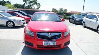 2010 Holden Cruze JG CD Red 5 Speed Manual Sedan.