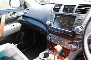 2010 Toyota Kluger GSU40R MY11 Grande 2WD Black 5 Speed Sports Automatic Wagon