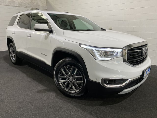 Used Holden Acadia AC MY19 LTZ AWD Glenorchy, 2019 Holden Acadia AC MY19 LTZ AWD White 9 Speed Sports Automatic Wagon