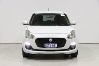 2019 Suzuki Swift AL GL Navigator White Continuous Variable Hatchback.