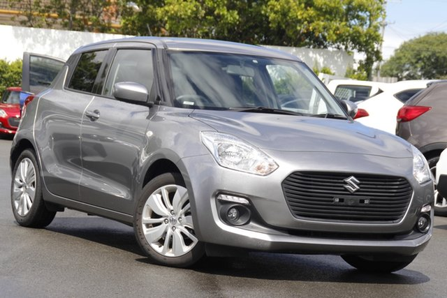 Used Suzuki Swift AZ GL Navigator Mount Gravatt, 2019 Suzuki Swift AZ GL Navigator Silver 1 Speed Constant Variable Hatchback