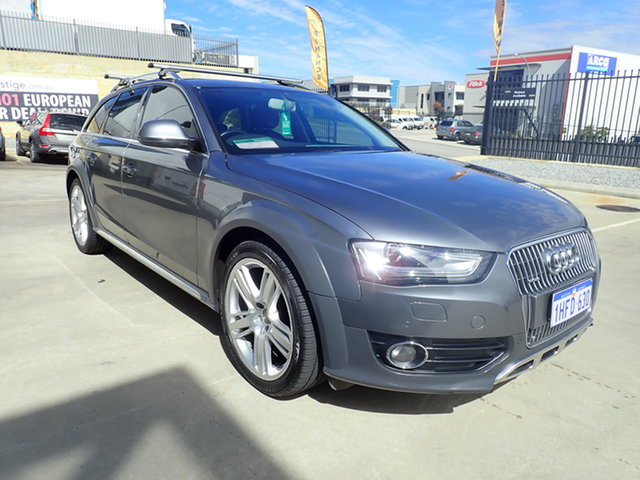 Used Audi A4 B8 (8K) MY14 Allroad Quattro LE Wangara, 2014 Audi A4 B8 (8K) MY14 Allroad Quattro LE Alpine Grey 7 Speed Auto Direct Shift Wagon