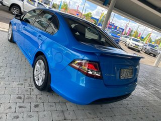 2010 Ford Falcon XR6 Blue Sports Automatic Sedan
