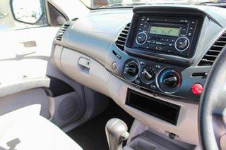 2010 Mitsubishi Triton MN MY11 GLX 4x2 White 4 Speed Automatic Utility