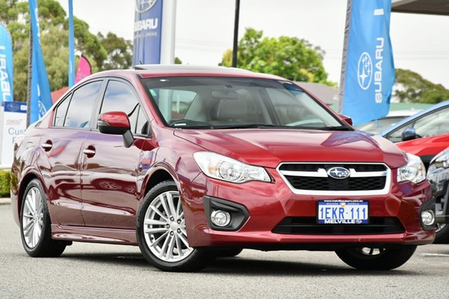Used Subaru Impreza G4 MY14 2.0i-S Lineartronic AWD Melville, 2014 Subaru Impreza G4 MY14 2.0i-S Lineartronic AWD Venetian Red 6 Speed Constant Variable Sedan