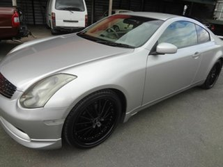 2004 Nissan Skyline V35 350GT Silver Continuous Variable Coupe