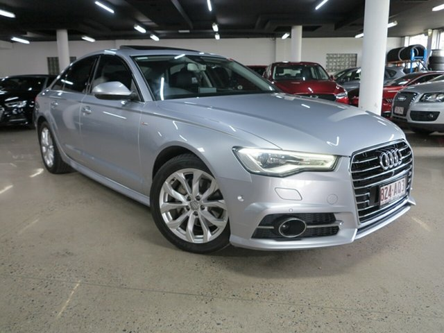 Used Audi A6 4G MY16 S Line S Tronic Albion, 2016 Audi A6 4G MY16 S Line S Tronic Silver 7 Speed Sports Automatic Dual Clutch Sedan