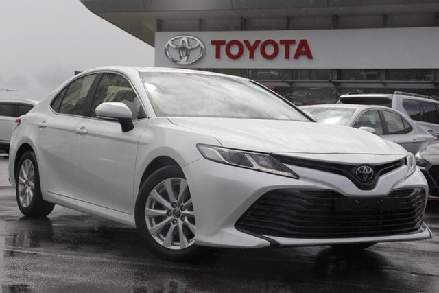 Pre-Owned Toyota Camry ASV70R Ascent Upper Mount Gravatt, 2019 Toyota Camry ASV70R Ascent White 6 Speed Sports Automatic Sedan