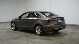 2015 Audi A3 8V MY15 Attraction S Tronic Bronze 7 Speed Sports Automatic Dual Clutch Sedan.