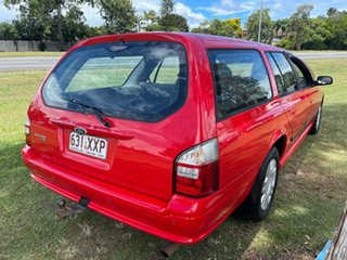2010 Ford Falcon BF Mk III XT Red 4 Speed Sports Automatic Wagon