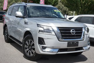 2019 Nissan Patrol Y62 Series 5 MY20 TI-L Silver 7 Speed Sports Automatic Wagon.