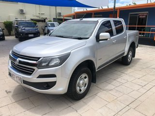 2016 Holden Colorado RG MY17 LS Pickup Crew Cab Silver 6 Speed Manual Utility.